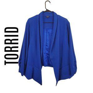 TORRID blue blazer jacket 5